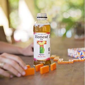 $14.06 Honest Tea Organic Fair Trade Peach Tea Gluten Free, 16.9 Fl. Oz, 12 Pack @ Amazon