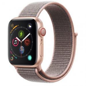 Apple Watch Series 4 GPS + Cellular Gold Aluminum Case with Pink Sand Sport Loop