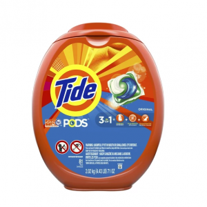 Tide PODS Laundry Detergent Pacs Original - 81ct