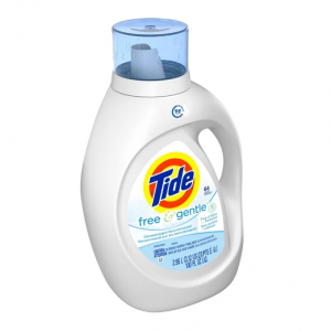Tide Free and Gentle High Efficiency Liquid Laundry Detergent - 100 fl oz