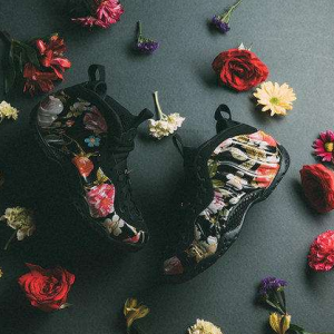 $230 for Women's Air Foamposite ONE FLORAL Shoes @ Nike