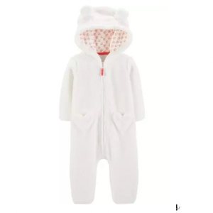 Hooded Sherpa Jumpsuit