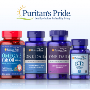 Puritan's Pride Coupon - Extra 25% OFF + Buy 2, Get 3 Free or Extra $10 off $50 or $15 off $75