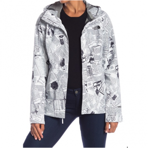 The North Face Berrien Printed Waterproof Jacket