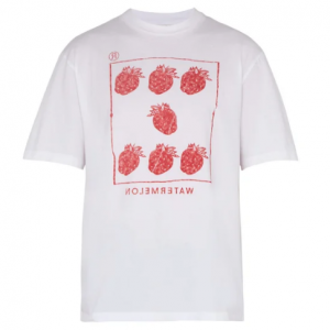 ACNE STUDIOS  Jaceye strawberry-print cotton T-shirt