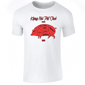 Year of The Pig Kung Hei Fat Choy 2019 Short Sleeve T-Shirt from $7.50