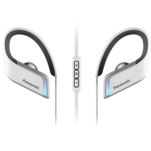 $160 off Panasonic WINGS Wireless Bluetooth Sport Clip Earbuds with Mic & Controller (White) @ B&H