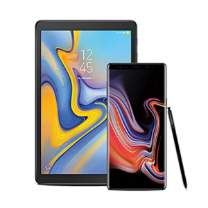 "Samsung Galaxy Note 9 Factory Unlocked Phone with 6.4"" Screen and 512GB, Midnight Black with Galax"