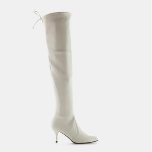 Stuart Weitzman Tiemodel Over-the-knee Boot In Plonge Leather
