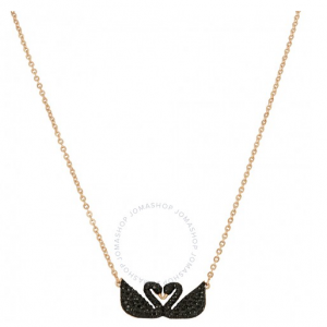 SWAROVSKI Iconic Swan Double Necklace