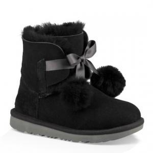 Gita Genuine Sheepskin Lined Boot (Little Kids & Big Kids)