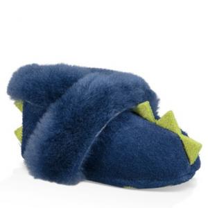 UGG Dydo Suede and Genuine Sheepskin Solvi Boot (Baby & Toddler)