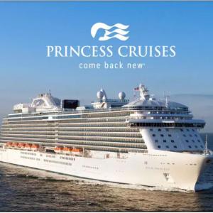 Princess Cruises公主邮轮大促:阿拉斯加海上冰川+内陆迪纳利之旅