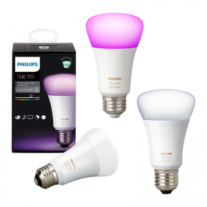 $99.99 for 3 select Philips Hue A19 smart bulbs @ Best Buy