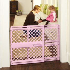 North States Supergate Classic Pink Baby Gate, 26''-42'' @ Walmart