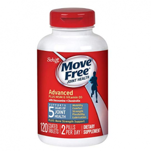 Move Free Advanced Plus MSM and Vitamin D3, 120 tablets