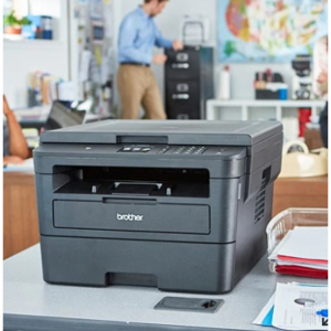 Brother HL-L2395DW Wireless Monochrome Laser Printer, Copier, Scanner + Paper