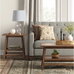 Haverhill Reclaimed End Table Brown - Threshold