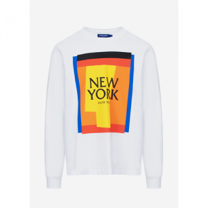 KNOW WAVE Cut Outs (New York) L/S T-Shirt