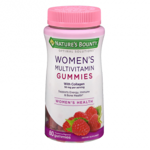 Nature's Bounty Optimal Solutions Women's Multi 50 mg, Gummies