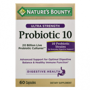 Nature's Bounty Ultra Strength Probiotic 10, Capsules