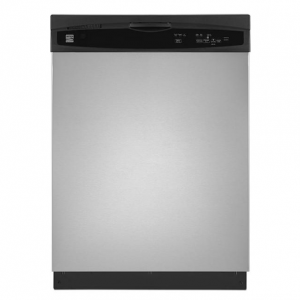 """Kenmore 13803 24"""" Built-In Dishwasher with Heated Dry - Stainless Steel"""