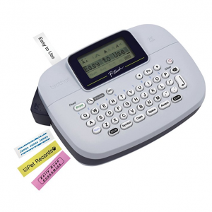 $35 off Brother P-touch, PTM95, Handy Label Maker, 9 Type Styles, 8 Deco Mode Patterns @ Amazon