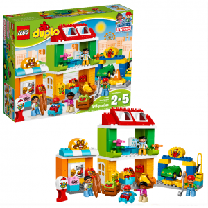 LEGO DUPLO Town Square 10836 Building Set (98 Pieces)