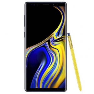 Samsung - Geek Squad Certified Refurbished Galaxy Note9 128GB (Unlocked) - Ocean Blue