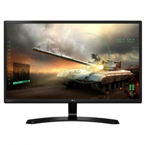 "LG - 24"" IPS LED FHD FreeSync Monitor - Black"