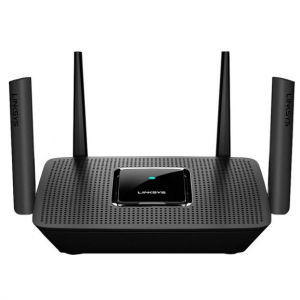 Linksys - MR8300 Max Stream™ AC2200 Tri-Band Mesh Wi-Fi Router - Black