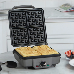 Cuisinart Belgian Waffle Maker with Pancake Plates