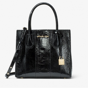Mercer Snakeskin Crossbody