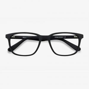 Bristol Matte Black Eyeglasses