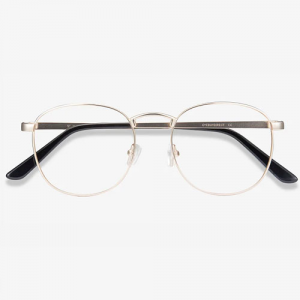 St Michel Golden Eyeglasses