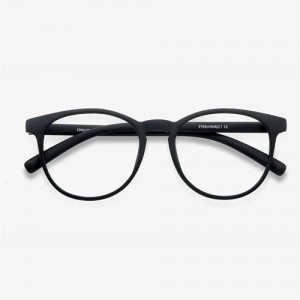 Chilling Black Eyeglasses