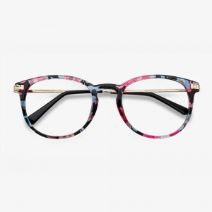Muse Blue Floral Eyeglasses For Women