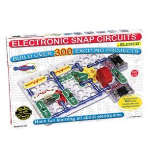 Snap Circuits Classic SC-300 Electronics Exploration Kit | Over 300 STEM Projects | 4-Color Projec
