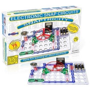 Snap Circuits Snaptricity Electronics Exploration Kit | Over 75 STEM Projects | 4-Color Project Ma