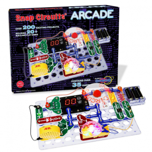 Snap Circuits Arcade Electronics Exploration Kit | Over 200 STEM Projects | 4-Color Project Manual