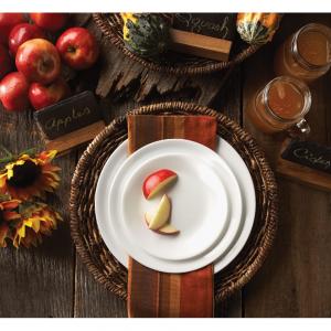 Corelle Livingware Winter Frost White 16-Piece Dinnerware Set