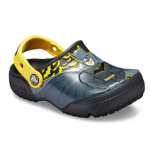 Kids' Crocs Fun Lab Iconic Batman Clog