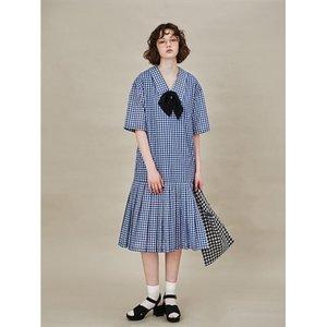 LOVLOV Summer Blue Dress