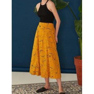 URAGO Mandarin Long Skirt