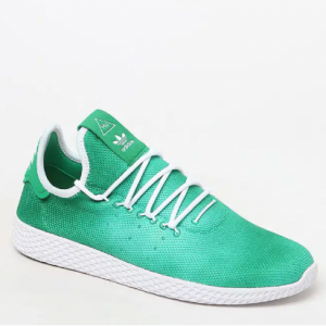 adidas x Pharrell Williams Hu Holi Green Tennis Shoes