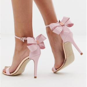 Ted Baker barely there heeled sandals