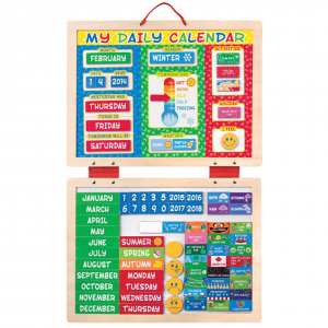 Melissa & Doug My First Daily Magnetic Calendar Set
