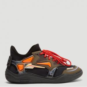 LANVIN Neoprene Diving Sneakers in Black