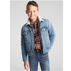 Gap Icon Sherpa Denim Jacket