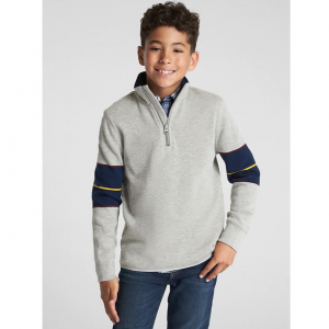 Gap Half-Zip Long Sleeve T-Shirt
